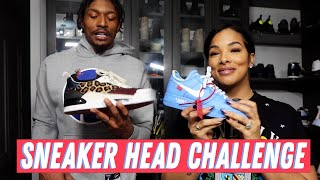 Sneaker Head Challenge!! Who has better shoe game // Kamiah vs Brad