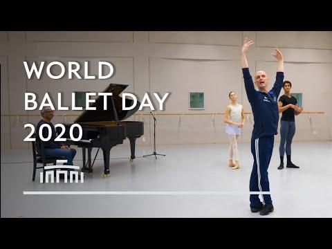 Ballet Class / Barre special with dancers and Ernst Meisner - Dutch National Ballet