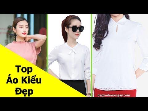 Top 60 áo kiểu nữ đẹp thời trang Y21