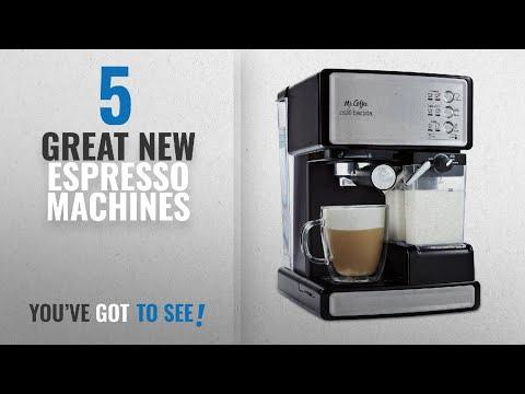 Top 10 Mr. Coffee Espresso Machines [2018]: Mr. Coffee Cafe Barista Espresso and Cappuccino Maker,