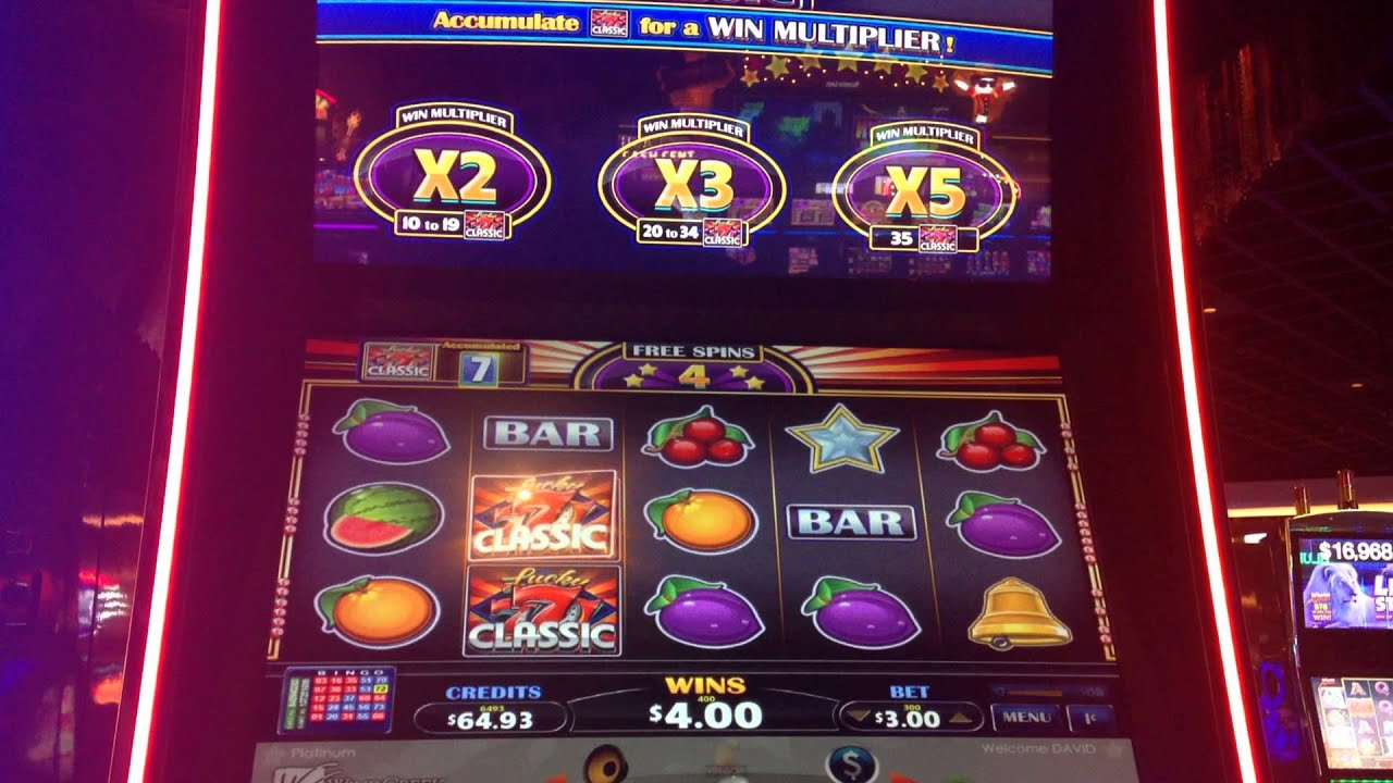 slot machine bonus wins