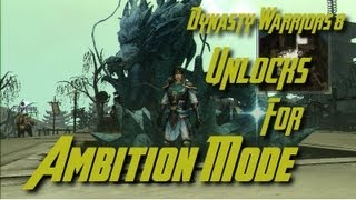 Dynasty Warriors 8 (ENG) Ambition Mode Camp Symbols & Animal Unlocks