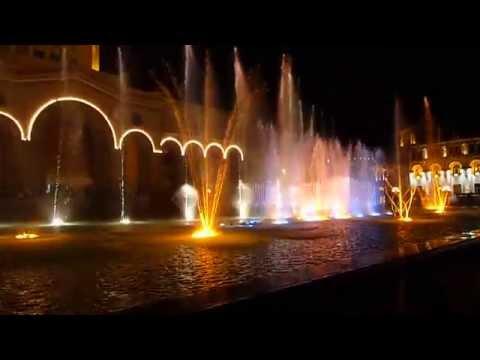 Ереван,поющий фонтан