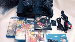 Máy PS2 CỰC ĐẸP, Playstation 2 Thế hệ mới !! USB CHƠI Snes, Nes, Sega, GBA, Ps1