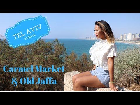Tel Aviv Vlog 2: Carmel Market and Old Jaffa