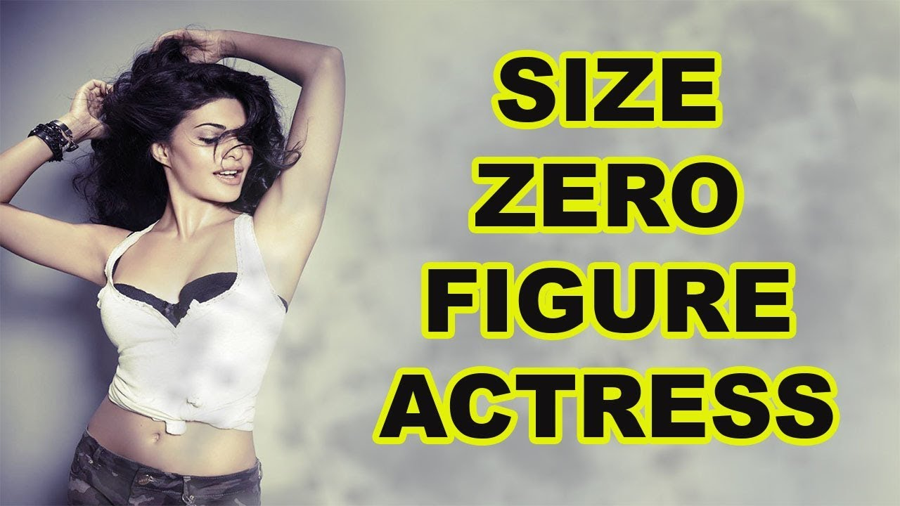 Top 5 Size Zero Figure Bollywood Actresses [Bollywood Cafe ...