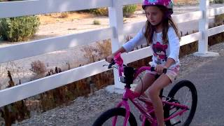 Emma Bike ride #1