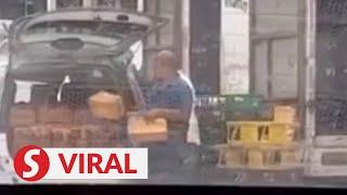 "Video on unhygienic handling of ""roti Bengali"" goes viral"