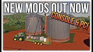 TWO NEW MODS FOR CONSOLE & PC! | Farming Simulator 19 Mods