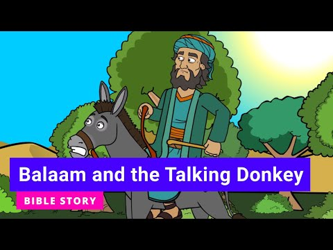 """Primary Year A Quarter 2 Episode 13: """"Balaam and the Talking Donkey"""""""