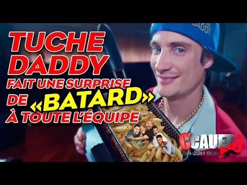 """Tuche Daddy fait une surprise de """"batard"""" à toute l'équipe - C'Cauet sur NRJ"""