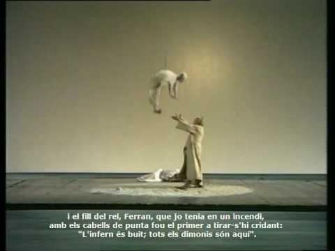 "En Veu Alta ""La tempestat"" de Shakespeare. (1) Direcció de Giorgio Strehler"