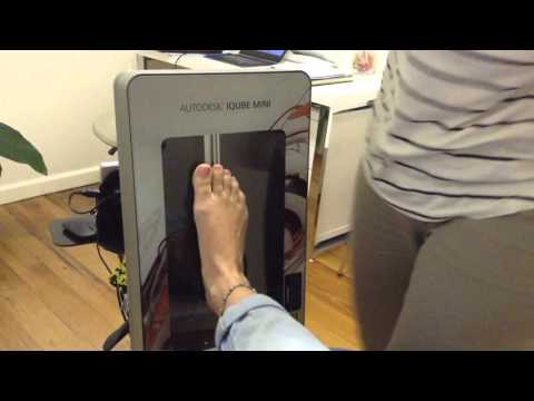 3D Foot Scans for Orthotic Prescription
