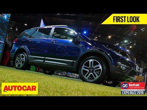 Tata Hexa First Look Autocar India Presented By Kotak Mahindra Prime