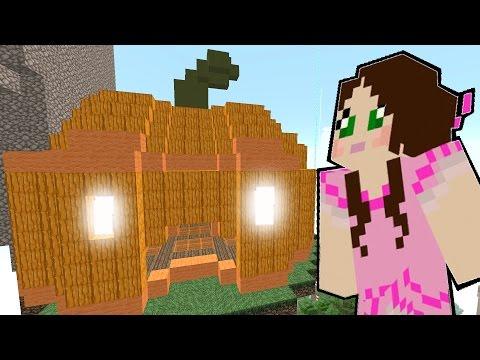 Minecraft: THE GIANT CREEPER PUMPKIN! - HALLOWEEN CANDY - Custom Map