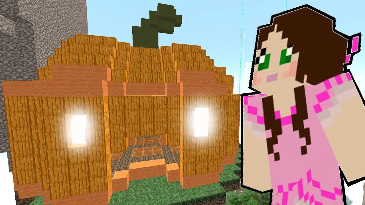 Minecraft the giant creeper pumpkin halloween candy doovi