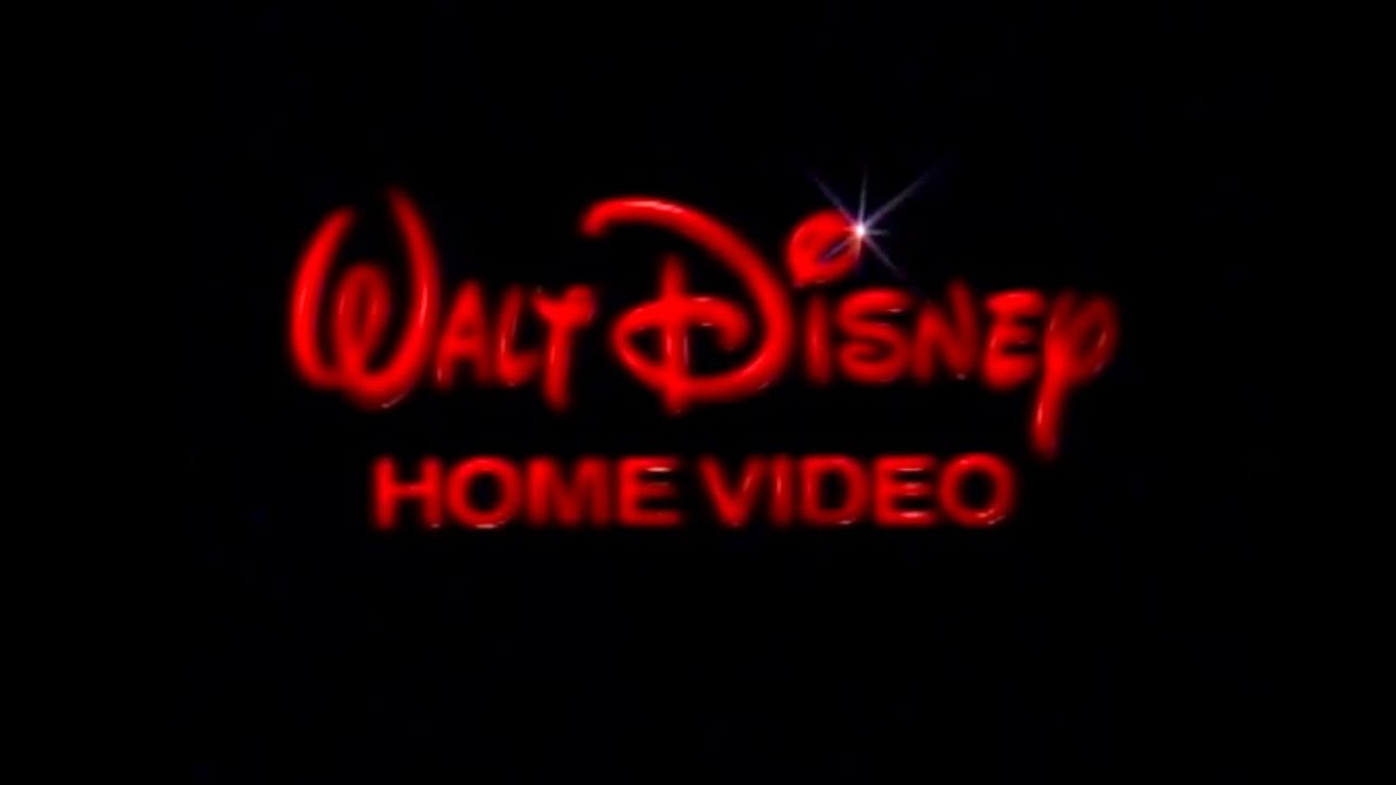 1986 Walt Disney Home Video Logo Dvd Quality Youtube