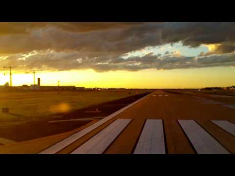 Sunset Take-Off from Dallas Lovefield