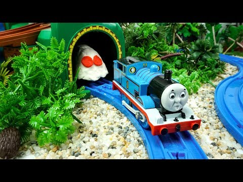 Thomas and Friends Toy Trains There is a ghost in the cave - Trains Toys for Kids