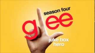 Juke Box Hero - Glee [HD Full Studio]