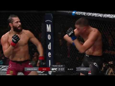 All significant strikes - Jorge Masvidal vs Nate Diaz