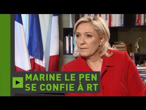 Marine Le Pen à RT France : «Il n'y aura plus d'Union européenne si la France en sort»