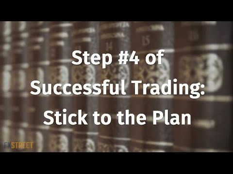 Step #4 of Successful Trading: Stick to the Plan