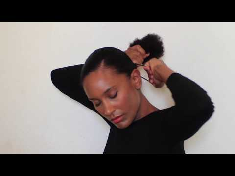Ma Coiffure De Mariage Sur Cheveux Afro Naturels Crepus