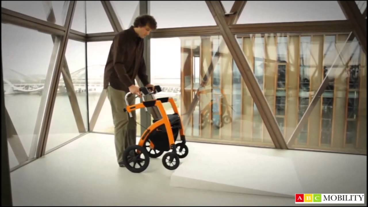 Rollz Motion Rollator Wheelchair (UK) - YouTube