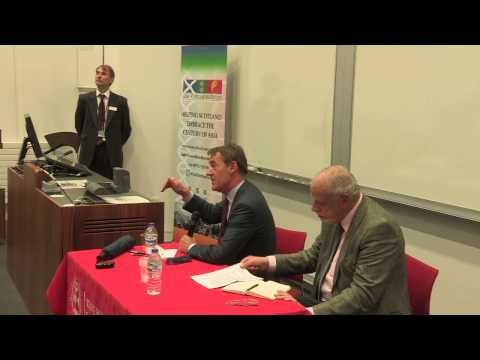 "Asia Scotland Institute Jim O'Neill ""The Changing World"" Presentation"