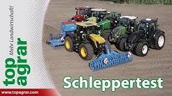 top agrar Schleppertest - Sechs Traktoren im Elektronik-Check