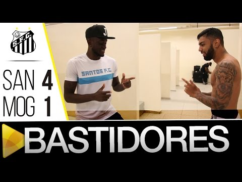 Santos 4 x 1 Mogi Mirim | BASTIDORES | Paulistão (25/02/16)