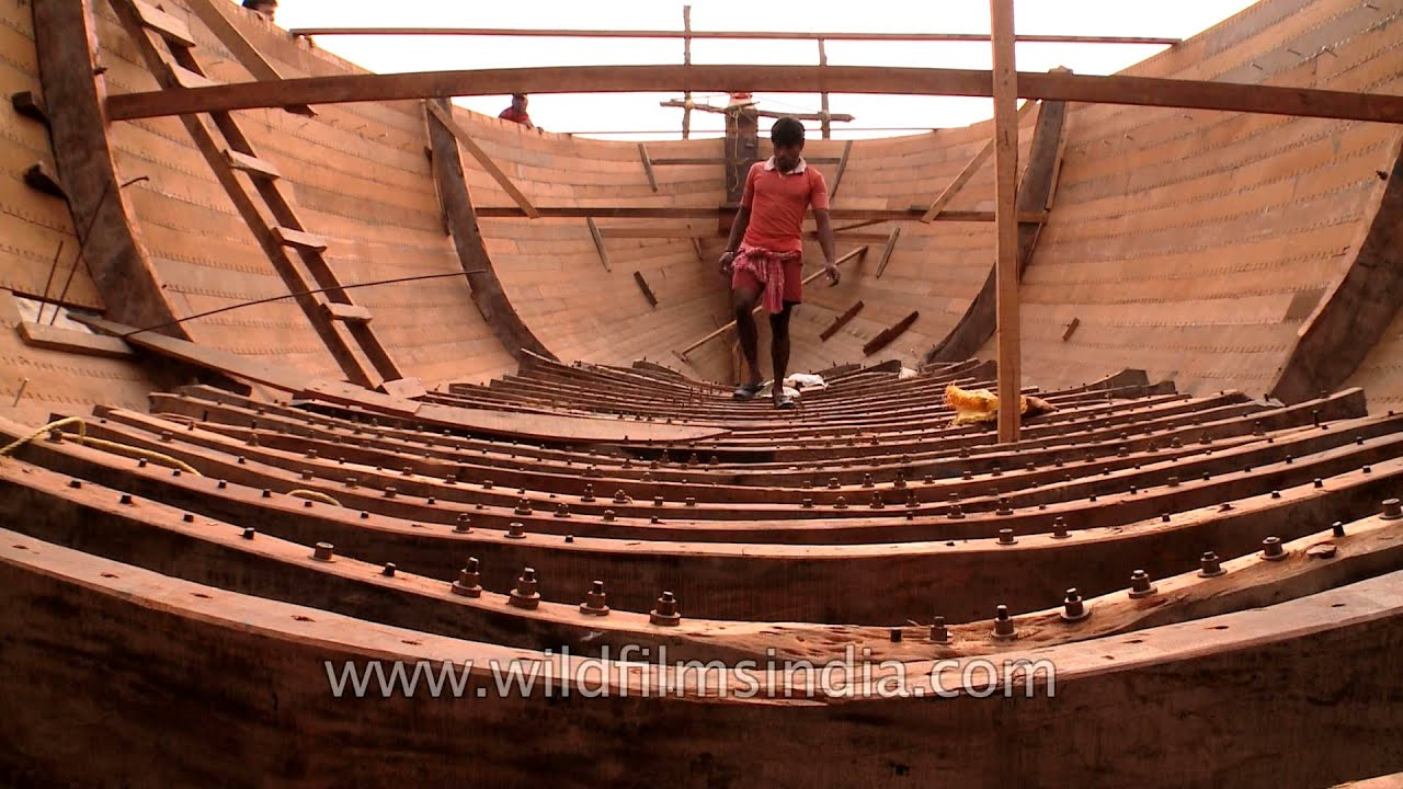 how to build a wooden boat youtube
