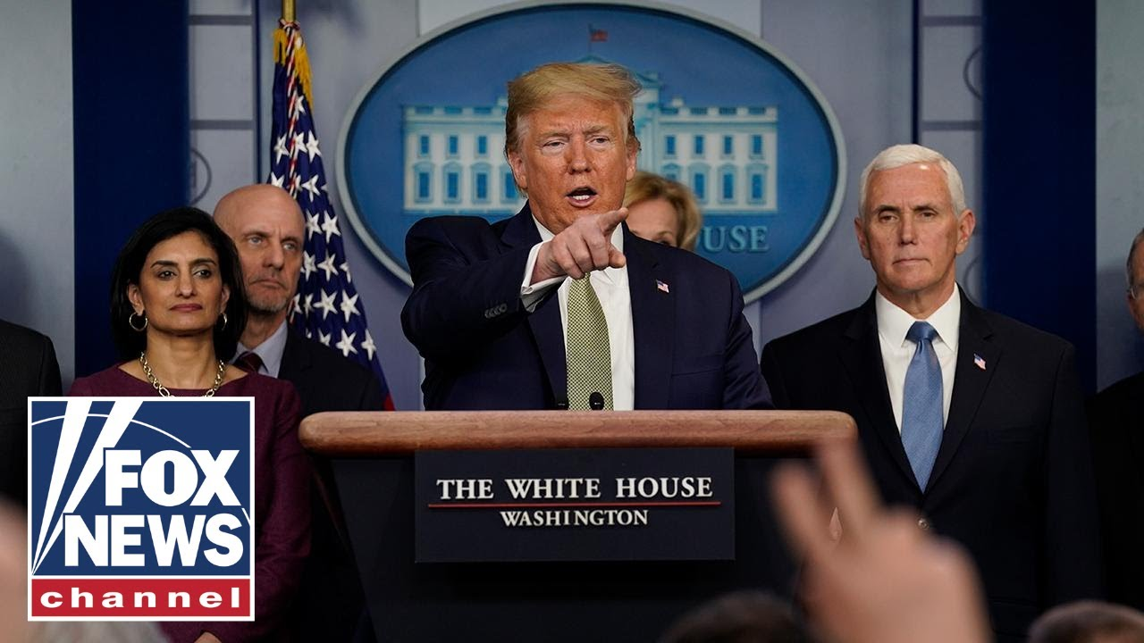 Trump slams China for hiding initial coronavirus information in press briefing