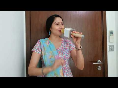 Udja kaale kaawan tere muh vich khand paama sung by Manju Bala