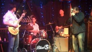 Mikey Junior/ Stone Cold Blues Band - Down at the Juke Joint
