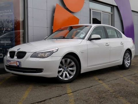 2009 BMW 530d SE Automatic 4dr White Saloon For Sale In Hampshire