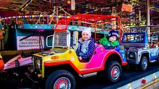 VLOG Лунапарк Одесса Аттракционы - Amusement Park Lunapark Odessa