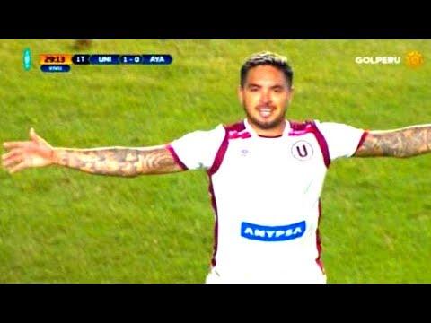 Universitario Vs Ayacucho FC GolaZO De Juan Vargas Narracion De RRPTorneo Apertura 29/07/2017