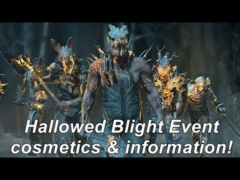 Dead By Daylight| Hallowed Blight Event cosmetics & information news! streaming vf