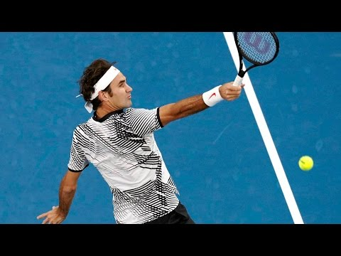 Roger Federer // The Drop Shot Perfection