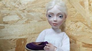 Авторская кукла БЖД из фарфора!