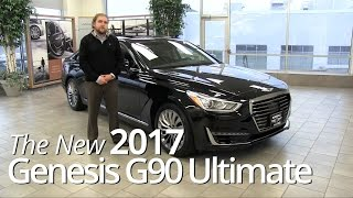 Review The New 2017 Genesis G90 Ultimate St Paul, Mpls, Inver Grove Heights, Bloomington, MN