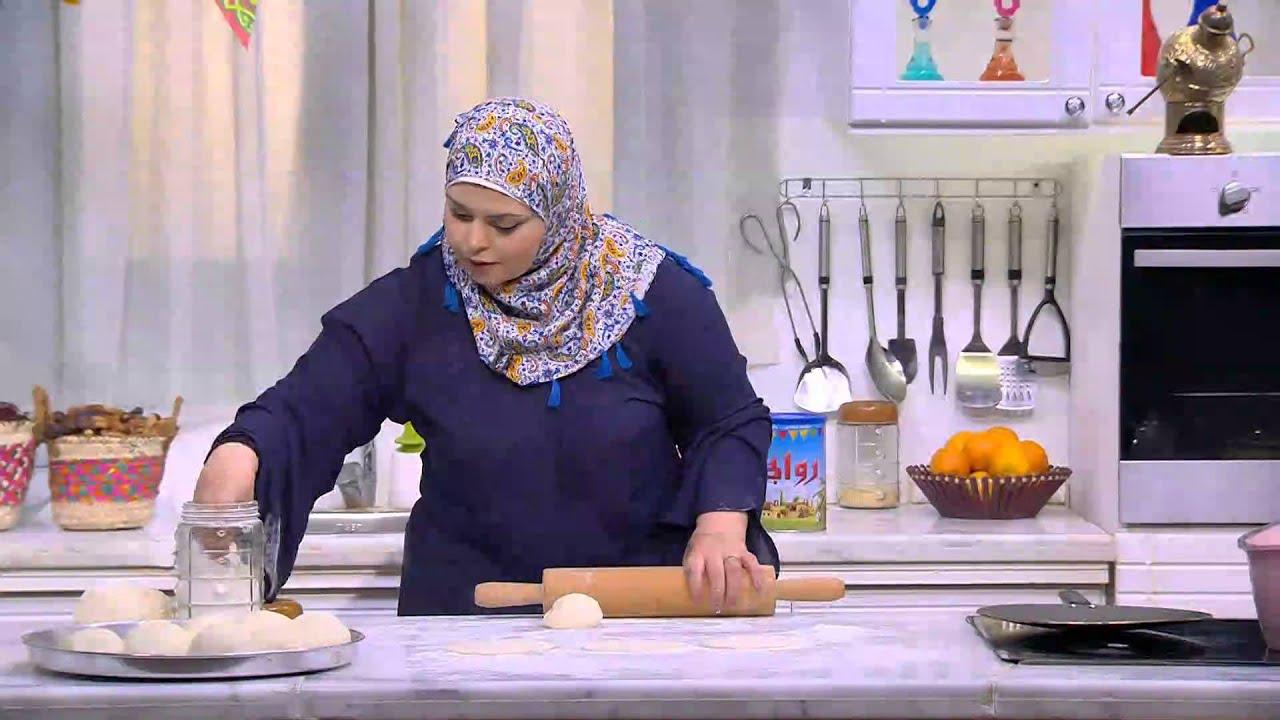 كبسة لحمة - قالب السجق في الفرن - خبز شامي - مشروب البسكوت : على قد الأيد حلقة كاملة