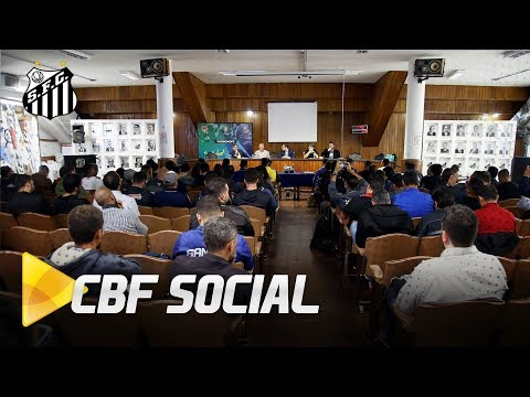 Santos FC recebe workshop da CBF na Vila Belmiro