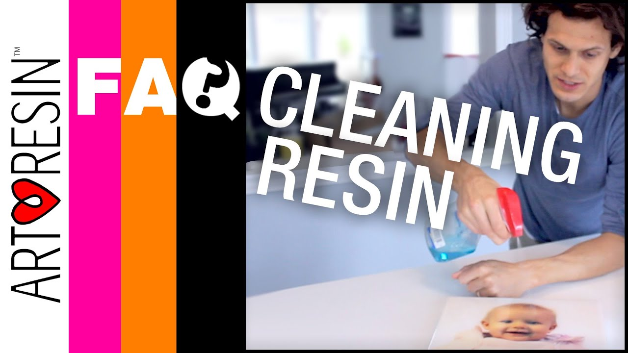 How To Clean Cured Clear Epoxy ArtResin