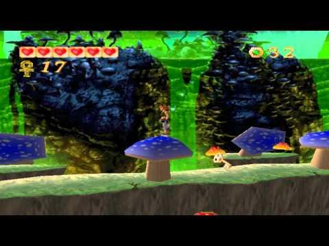 Pandemonium PC gameplay. (HQ). Level 6 - Acid Pools.