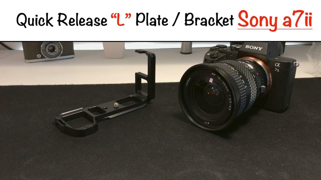 Quick Release L Plate Bracket Sony A7m2 A7r2 Youtube Kamera Alpha A6000