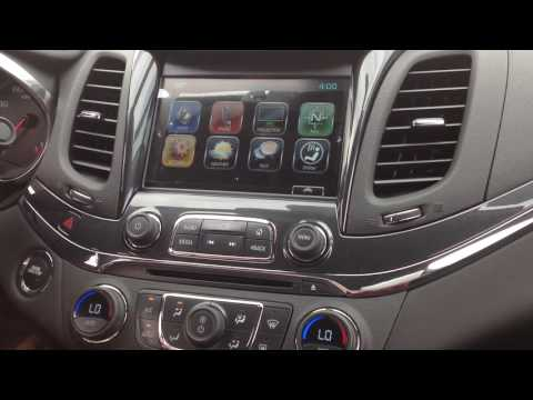 2018 Chevy Impala Radio / Infotainment Demonstration Indianapolis, IN
