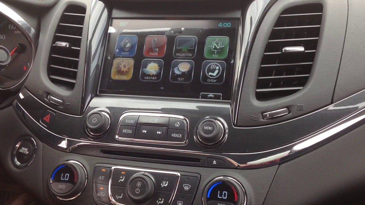 2018 Chevy Impala Radio Infotainment Demonstration